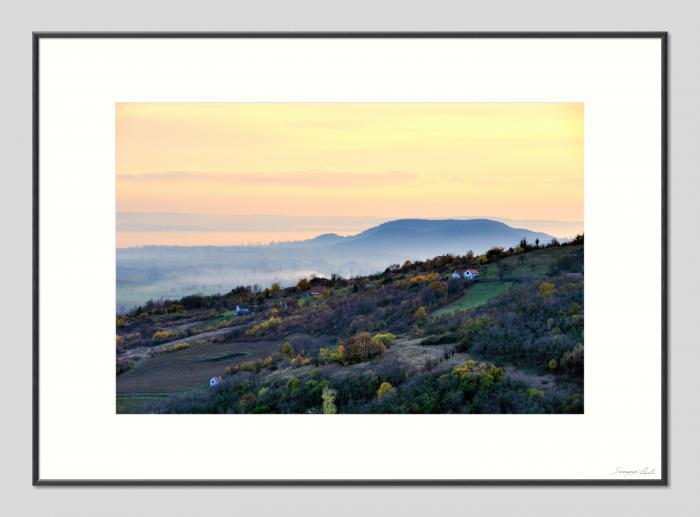 Leszálló köd - 50x70cm