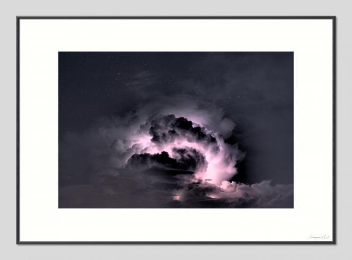 Örvénylő vihar - 50x70cm